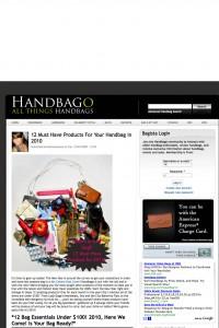 Clipa purse accessory makes top 12 list for 2010